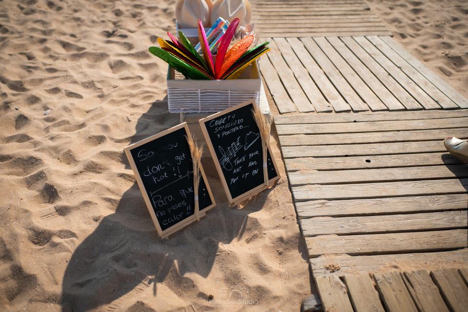 boda en una playa